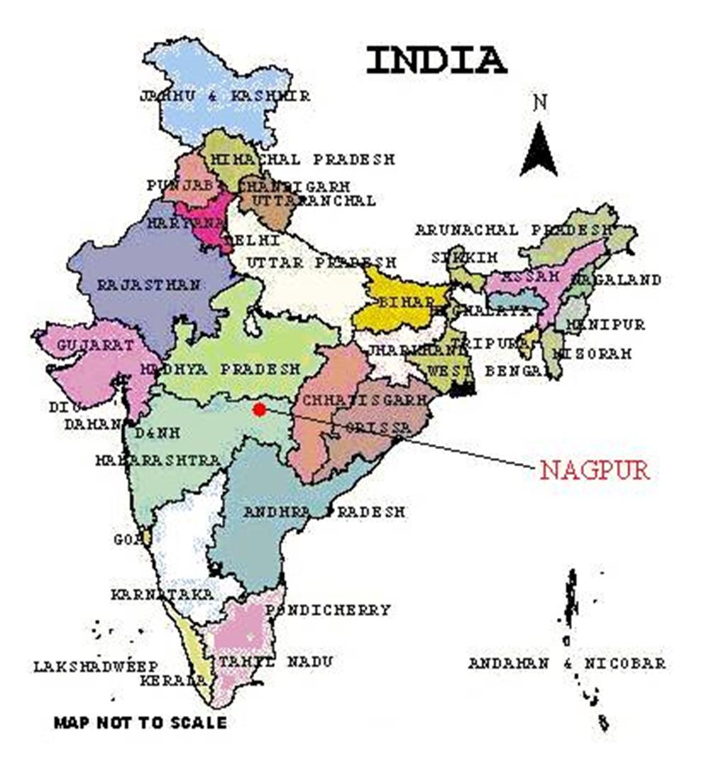 Nagpur In India Map Nagpur In India Map | compressportnederland Nagpur In India Map
